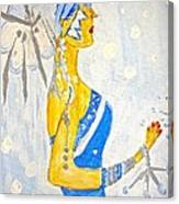 The Goddess Of Winter Canvas Print