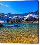 The Gold Lake Bottom Canvas Print