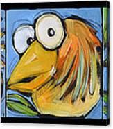The Goldbird Trio Canvas Print