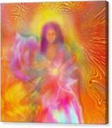 The Golden Deva Canvas Print