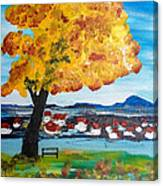 The Golden Tree Of Nish Canvas Print