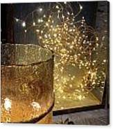 The Golden Warmth Of Winter Canvas Print