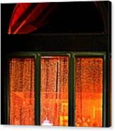 The Golden Window Canvas Print