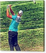The Golf Swing Canvas Print