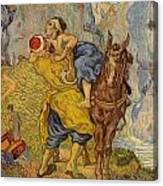 The Good Samaritan - After Delacroix Canvas Print