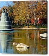 The Goodale Park  Fountain Canvas Print