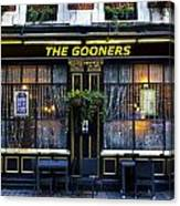 The Gooners Pub Canvas Print