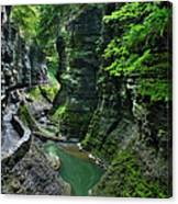 The Gorge Trail Canvas Print