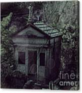 The Gothic Cemetery Canvas Print