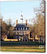 The Governor's Palace Canvas Print