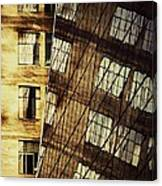 Surrealism At The Grace Building New York Canvas Print