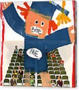 The Graduate Canvas Print