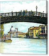 The Grand Canal Venice Italy Canvas Print