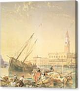 The Grand Canal, Venice Canvas Print