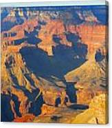 The Grand Canyon From Outer Space Canvas Print
