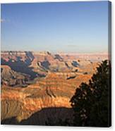 The Grand Canyon Towards Sunset Canvas Print