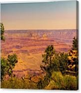 The Grand Canyon Vintage Americana Iv Canvas Print