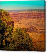 The Grand Canyon Vintage Americana Vii Canvas Print