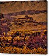 The Grand Canyon Vintage Americana Viii Canvas Print