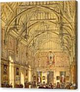 The Grand Hall, Biddington, Surrey Canvas Print