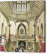 The Grand Staircase, Windsor Castle Canvas Print