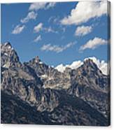 The Grand Tetons - Grand Teton National Park Wyoming Canvas Print