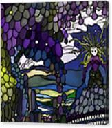 The Grape Arbor Medusa Canvas Print