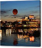 The Great And Powerful Oz Over Downtown Disney Canvas Print