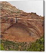 The Great Arch At Zion Natioal Park Canvas Print