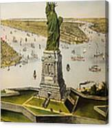 The Great Bartholdi Statue Canvas Print