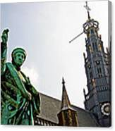 The Great Church Of Haarlem Canvas Print