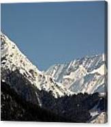 The Great Himalayan Range Canvas Print