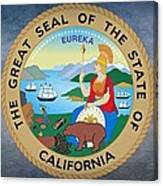 The Great Seal Of The State Of California Canvas Print