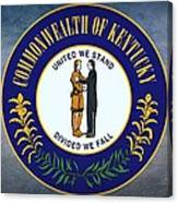 The Great Seal Of The State Of Kentucky  Canvas Print