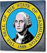 The Great Seal Of The State Of Washington Canvas Print