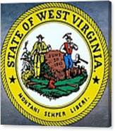 The Great Seal Of The State Of West Virginia Canvas Print