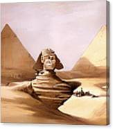 The Great Sphinx Canvas Print