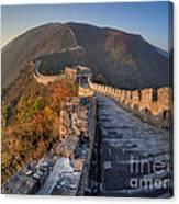 The Great Wall Of China Mutianyu China Canvas Print