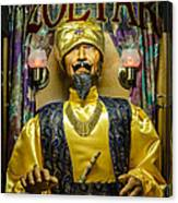 The Great Zoltar Canvas Print