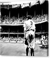 The Greatest Of All  Babe Ruth Canvas Print