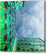 The Green Building Canvas Print