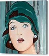 Green Cloche Canvas Print