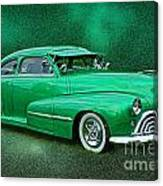 The Green Ghost Canvas Print