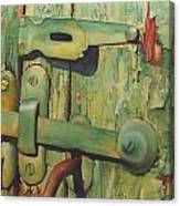 The Green Latch Canvas Print