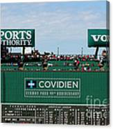 The Green Monster 99 Canvas Print