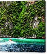 The Green Sea Canvas Print