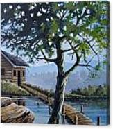 The Green Tree Canvas Print