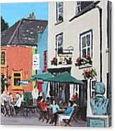 The Greyhound Bar Kinsale Canvas Print
