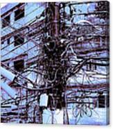 The Grid 3 Canvas Print