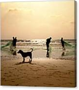 The Guardian Dog Canvas Print